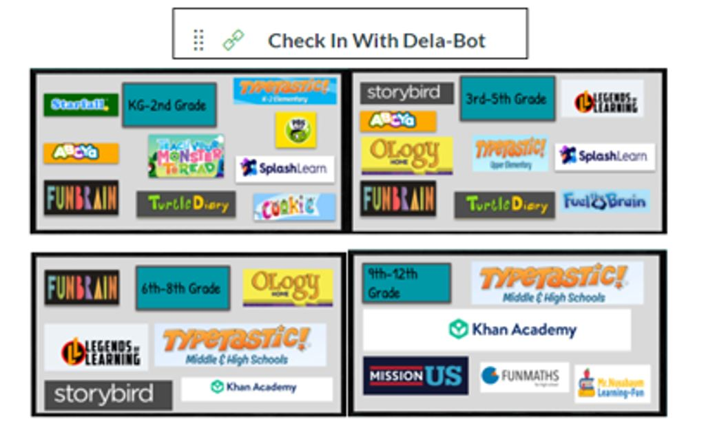 Check in With Dela-Bot Image
